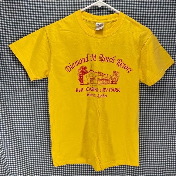 Diamond M Ranch Kenai Alaska T-Shirt Men's Size Sm